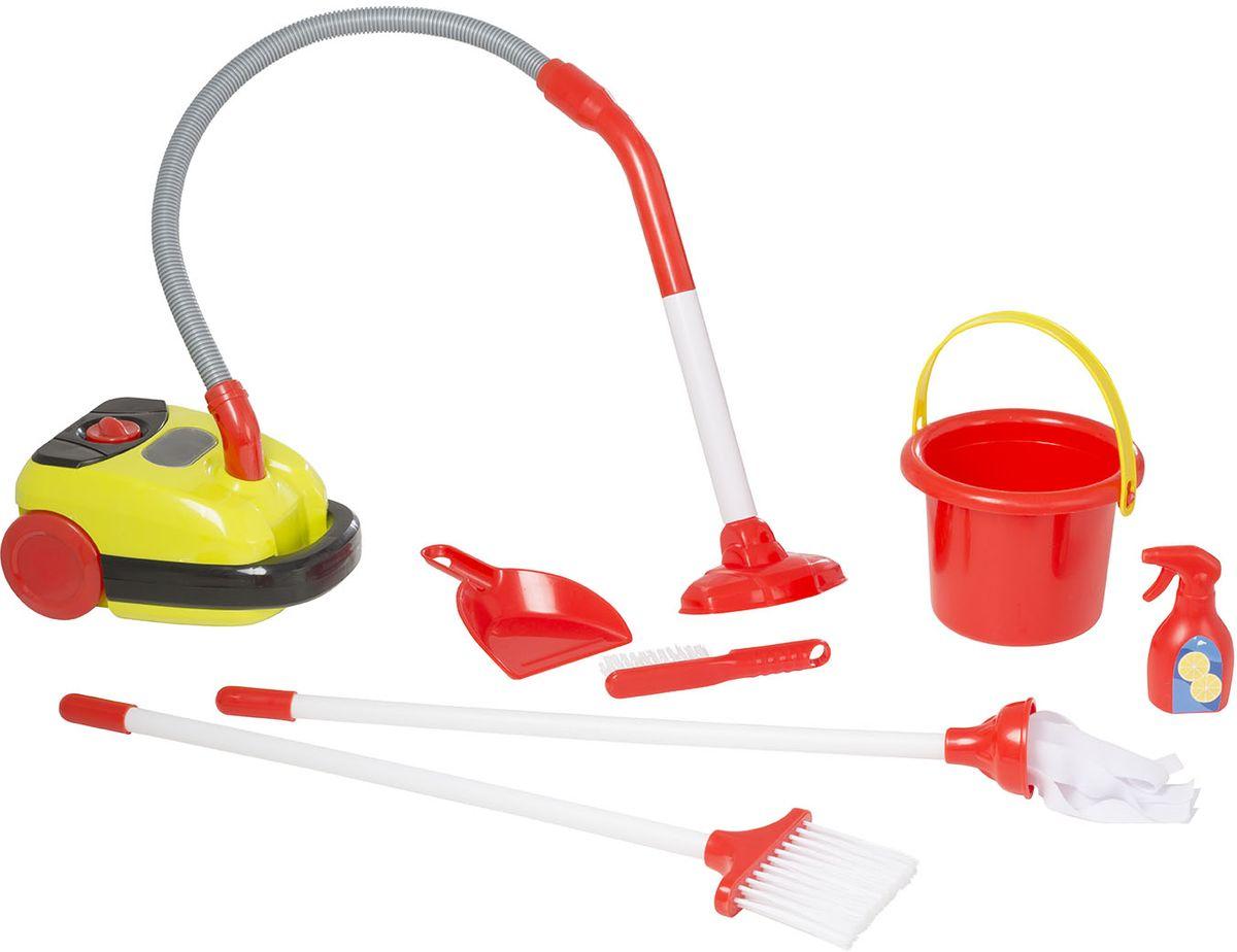 HTI Тележка для уборки с пылесосом Smart écoiffier тележка для уборки с пылесосом ecoiffier