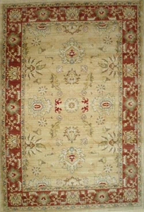 Ковер Oriental Weavers Бабилон, цвет: коричневый, красный, 120 х 180 см. 1116774-0060Ковры машинной выработки, сделанные под ковры ручной работы, с использованием технологий искусственного состаривания. Качественный состав, традиционные персидские дизайны делают ковры этой коллекции незаменимым украшением самого изысканного интерьера
