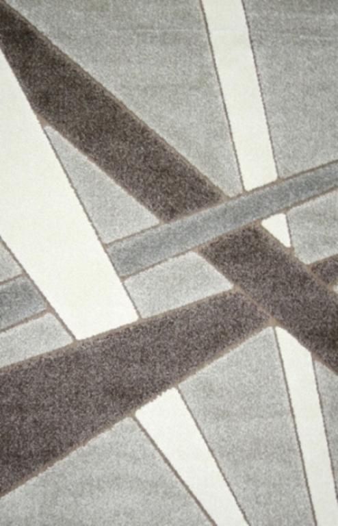 Ковер Oriental Weavers Леа, цвет: коричневый, 80 х 140 см. 1491020-12156Ковер Oriental Weavers Леа выполнен из полипропилена. Двухуровневая современная технология cut&loop делает объемными дизайны ковров этой коллекции, что позволяет использовать их в самых современных интерьерах.