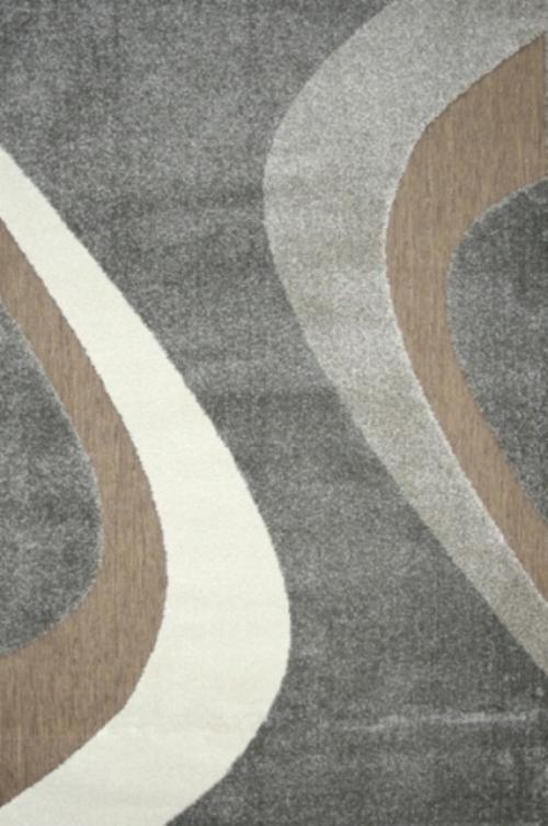Ковер Oriental Weavers Леа, цвет: коричневый, 80 х 140 см. 14912FS-91909Двухуровневая современная технология cut&loop делает объемными дизайны ковров этой коллекции, что позволяет использовать их в самых современных интерьерах.