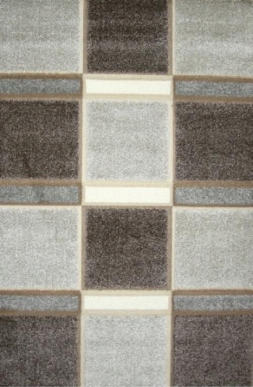 Ковер Oriental Weavers Леа, цвет: коричневый, 80 х 140 см. 14914PR-2WДвухуровневая современная технология cut&loop делает объемными дизайны ковров этой коллекции, что позволяет использовать их в самых современных интерьерах.
