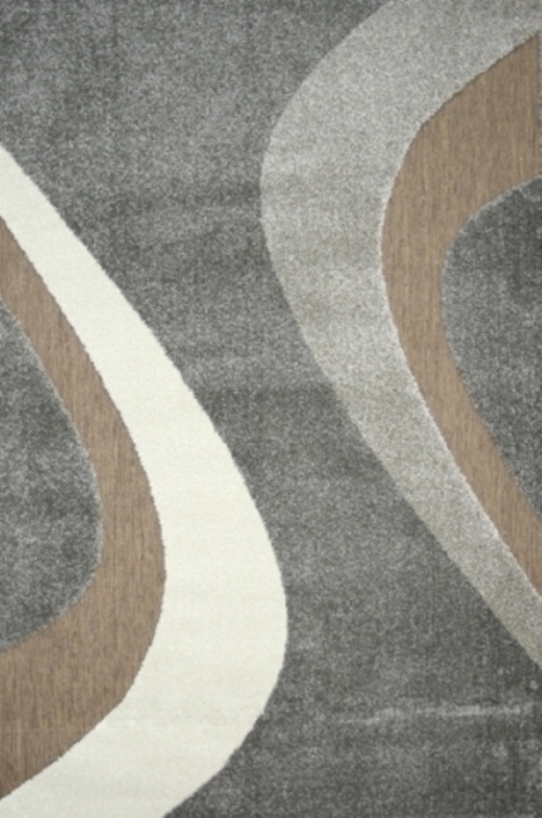 Ковер Oriental Weavers Леа, цвет: коричневый, 120 х 180 см. 14922ES-412Двухуровневая современная технология cut&loop делает объемными дизайны ковров этой коллекции, что позволяет использовать их в самых современных интерьерах.