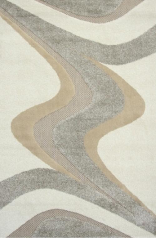 Ковер Oriental Weavers Леа, цвет: коричневый, 120 х 180 см. 1492374-0060Двухуровневая современная технология cut&loop делает объемными дизайны ковров этой коллекции, что позволяет использовать их в самых современных интерьерах.