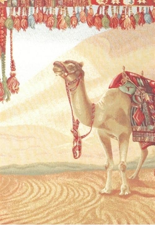 Ковер Oriental Weavers Виктория, цвет: коричневый, красный, 100 х 140 см. 1502274-0120Коллекция настенных гобеленов очень высокого качества на хлопковом подкладе со специальным карманом для крепления карниза.