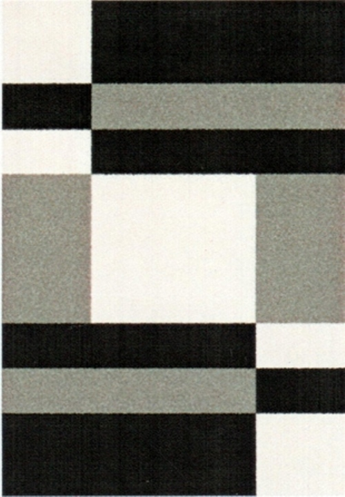 Ковер Oriental Weavers Транс, цвет: черный, серый, 120 х 170 см. 16739ES-412Модерновые дизайны и относительно невысокая стоимость дают возможность предложить эту коллекция для молодых покупателей.