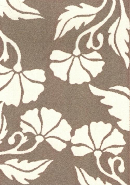 Ковер Oriental Weavers Варшава, цвет: светло-коричневый, 80 х 140 см. 1684341619Ковры из высококачественного полипропилена с технологией ручной рельефной стрижки выдержаны в классических бело-коричневых тонах. Подойдут для спальни, детской и гостиной.