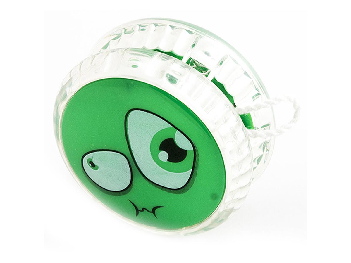 Россия Волчок на шнуре Yo-Yo Смайл Эврика цвет зеленый yo kai watch мягкая игрушка walkappa 16 см
