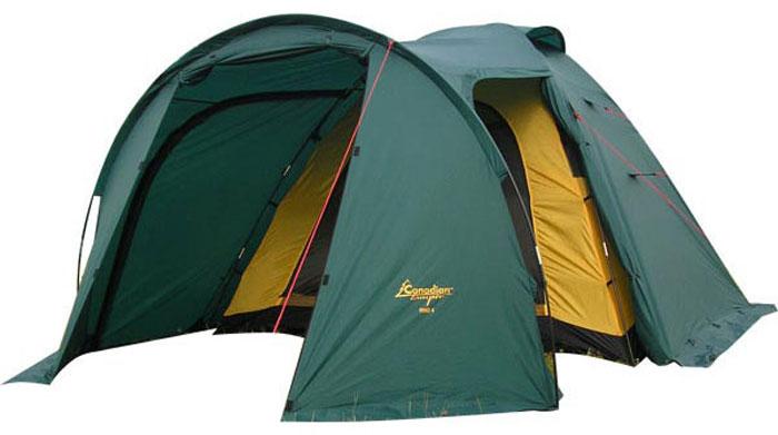 Палатка CANADIAN CAMPER RINO 2 (цвет forest)30200048Туристическая палатка Canadian Camper Rino 2 – отличный вариант для отдыха на природе, путешествий и пеших походов. Эта двухместная палатка просторна, она легко устанавливается и собирается, а благодаря небольшому весу ее можно переносить на большие расстояния. Качественные современные материалы, продуманный дизайн и демократичная цена делают эту палатку оптимальным выбором для начинающих и опытных туристов.Габариты внешней палатки: 320 х 160 х 135 см. Габариты внутренней палатки: 210 х 155 х 130 см.