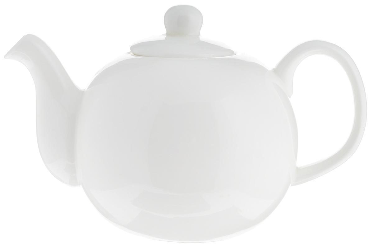 Чайник заварочный Wilmax, 500 мл. WL-994018 / 1C21395599Заварочный чайник Wilmax изготовлен из высококачественного фарфора. Глазурованное покрытие обеспечивает легкую очистку. Изделие прекрасно подходит для заваривания вкусного и ароматного чая, а также травяных настоев. Отверстия в основании носика препятствует попаданию чаинок в чашку. Оригинальный дизайн сделает чайник настоящим украшением стола. Он удобен в использовании и понравится каждому.Можно мыть в посудомоечной машине и использовать в микроволновой печи. Диаметр чайника (по верхнему краю): 5 см. Высота чайника (без учета крышки): 8,5 см. Высота чайника (с учетом крышки): 10,5 см.