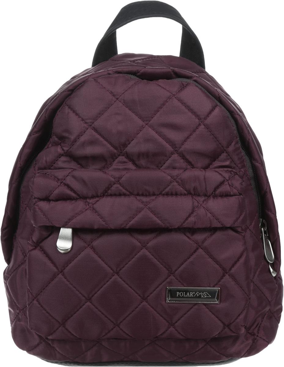 Рюкзак городской женский Polar, цвет: бордовый, 9 л. п7075-14