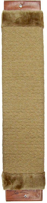 Когтеточка Неженка джутовая, с кошачьей мятой, 51 х 10 см. 71887188Когтеточка Неженка поможет сохранить мебель и ковры в доме от когтей вашего любимца, стремящегося удовлетворить свою естественную потребность точить когти.Основание изделия изготовлено из ДСП и обтянуто прочной тканью, а столб для точения когтей обтянут джутом. Товар продуман в мельчайших деталях и, несомненно, понравится вашей кошке.Всем кошкам необходимо стачивать когти. Когтеточка - один из самых необходимых аксессуаров для кошки. Для приучения к когтеточке можно натереть ее сухой валерьянкой или кошачьей мятой. Когтеточка поможет вашему любимцу стачивать когти и при этом не портить вашу мебель.