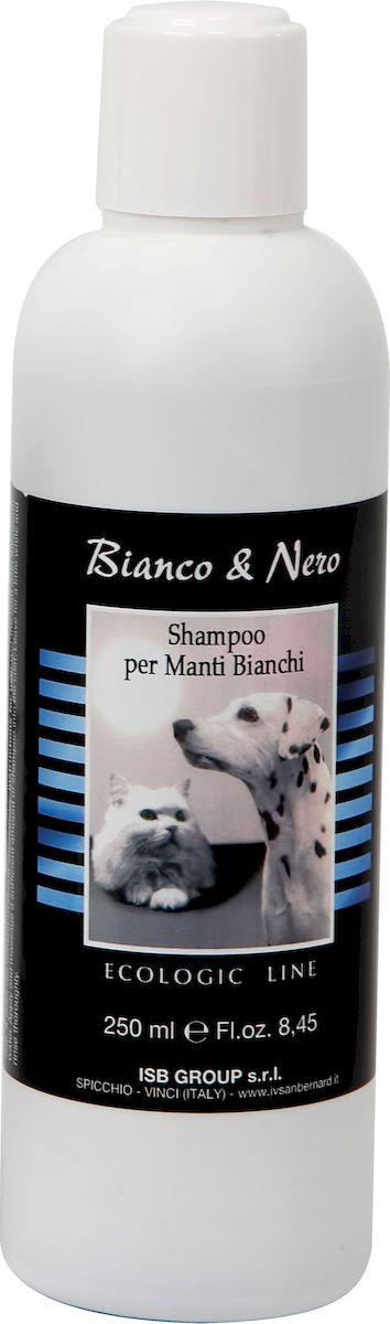 Шампунь для животных с белой шерстью  Iv San Bernard , 250 мл