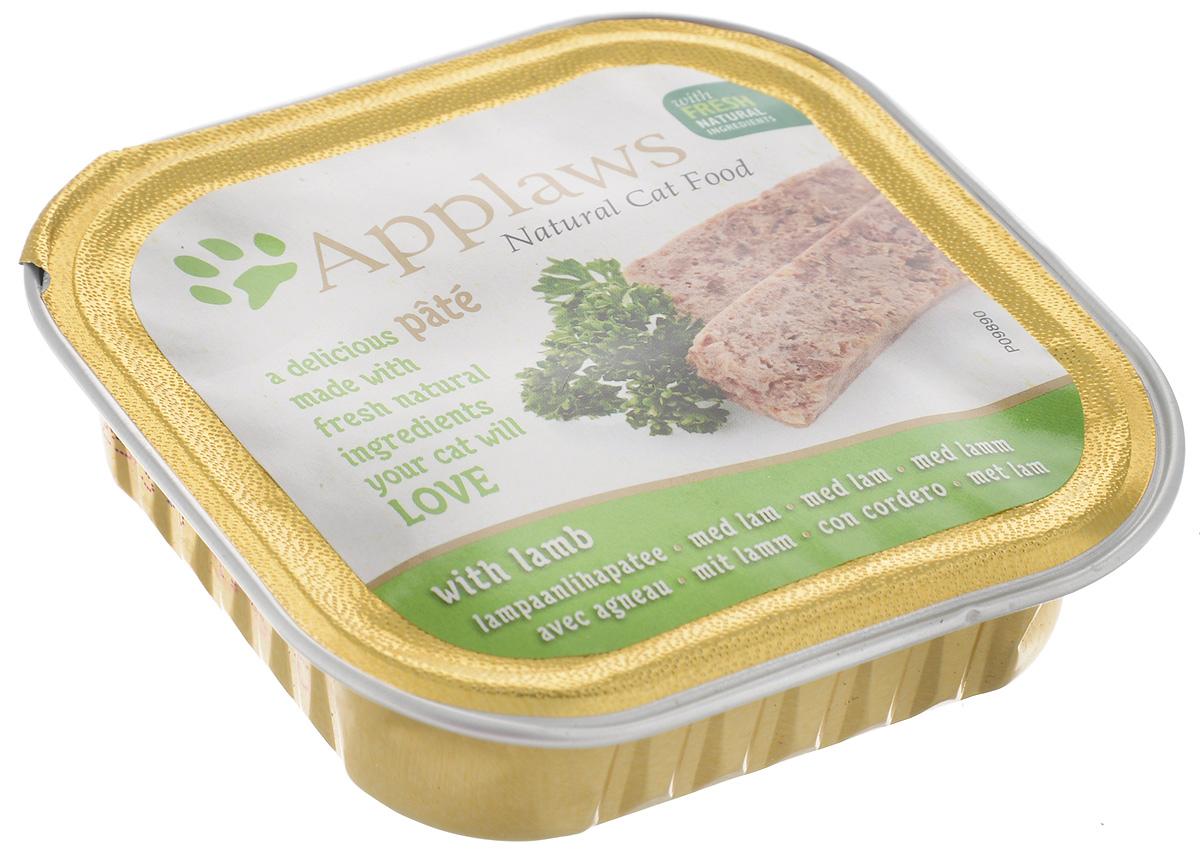 Консервы для кошек Applaws, паштет, с ягненком, 100 г24373Консервы для кошек Applaws – это полнорационная порция мясного и рыбного мусса с добавлением всех необходимых для кошки витаминов и минералов.Состав: курица 35%, свинина 23%, ягненок 4%, индейка 4%, лосось 4%, форель 4%.Пищевые добавки: витамин Е 30 МЕ/кг, сульфат меди 1мг/кг, сульфат цинка 20 мг/кг. Гарантированный анализ: белки 10%, жиры 5,5%, клетчатка 0,2%, зола 2,3%, влага 82%.Товар сертифицирован.