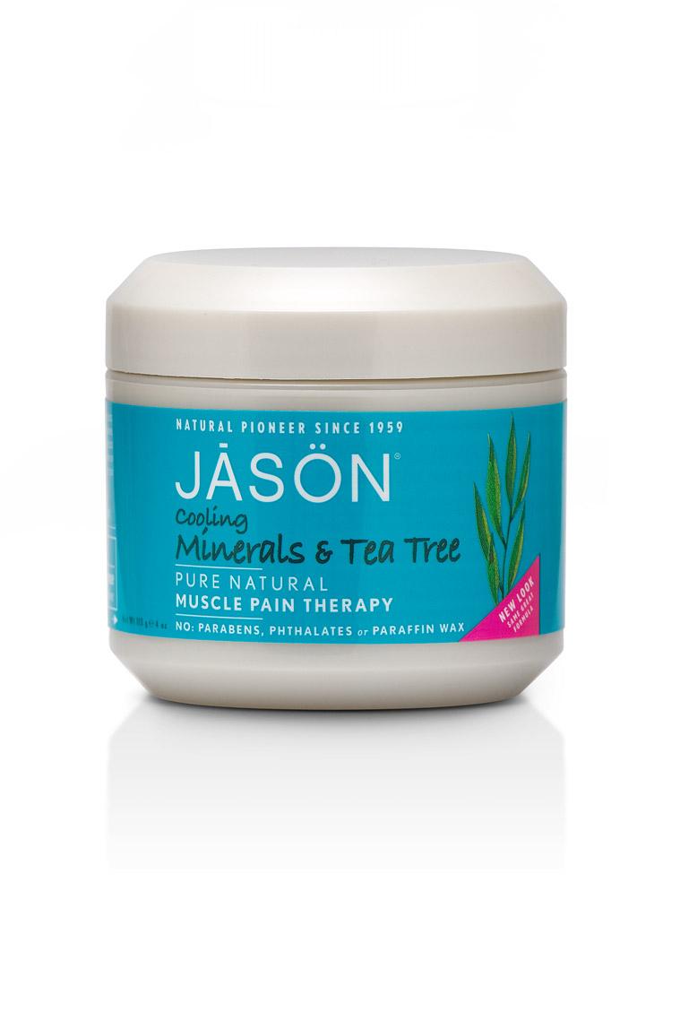 Jason Минеральный гель для тела с маслом чайного дерева Tea Tree Pain Therapy, 113 грFS-36054Главное достоинство геля – быстрое местное болеутоляющее и противовоспалительное действие. Обладает антисептическим, антибактериальным и противоотечным действием. Легкий охлаждающий эффект при нанесении помогает при ушибах, мышечном напряжении, болях в мышцах и суставах. Масла авокадо, примулы вечерней и лесного ореха смягчают и питают кожу.