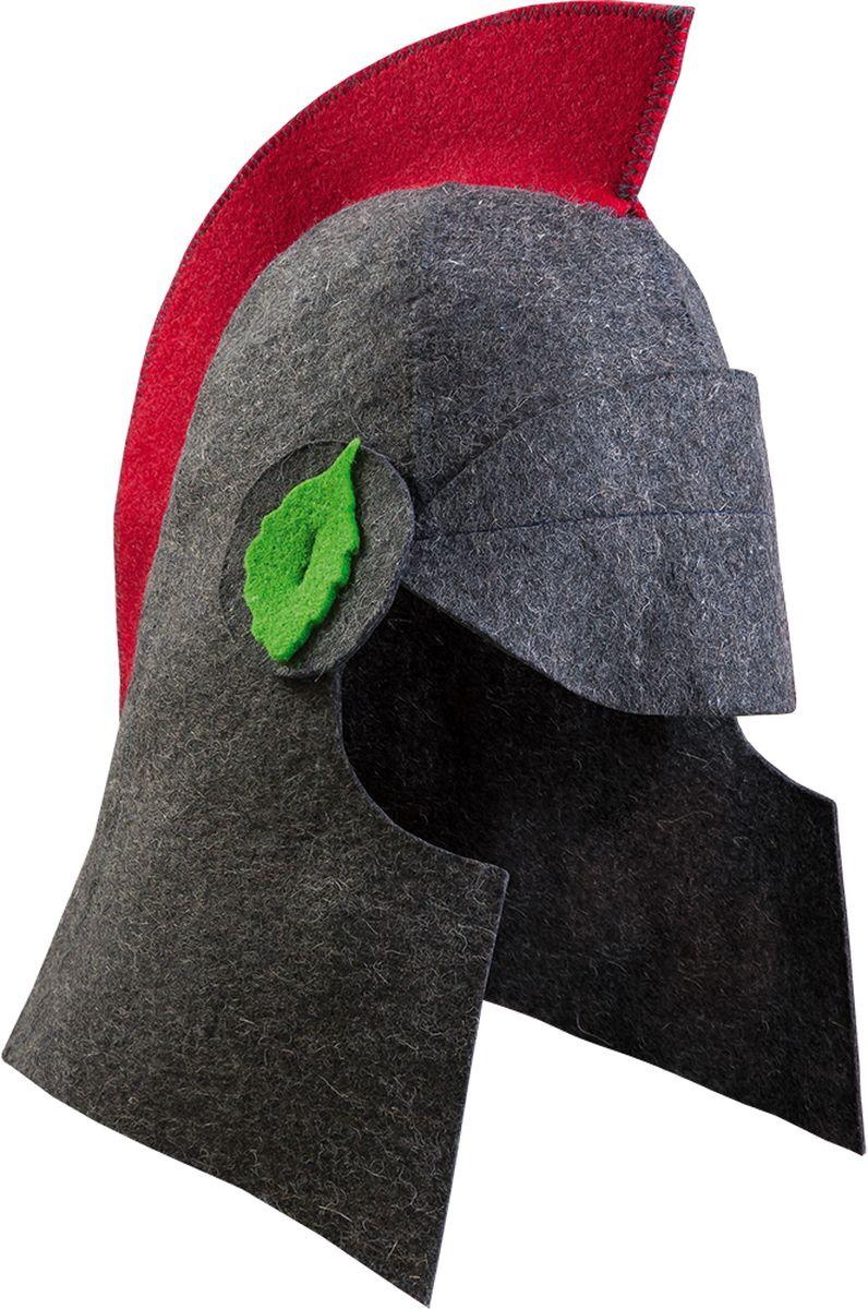 Шапка для бани и сауны Банные штучки Спарта41170Банная шапка Банные штучки изготовлена из войлока. Банная шапка - это незаменимый аксессуар для любителей попариться в русской бане и для тех, кто предпочитает сухой жар финской бани. Кроме того, шапка защитит волосы от сухости и ломкости, и предотвратит тепловой удар. На шапке имеется петелька, с помощью которой ее можно повесить на крючок в предбаннике. Такая шапка станет отличным подарком длялюбителей отдыха в бане или сауне.Размер: универсальный.