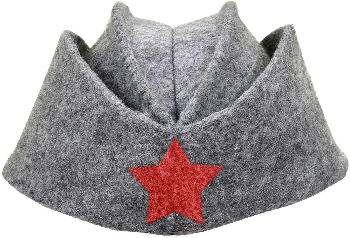 Шапка для бани и сауны Нot Pot Пилотка со звездой531-301Шапка для бани и сауны Hot Pot — это необходимый аксессуар при посещении парной. Такая шапка защитит от головокружения и перегрева головы, а также предотвратит ломкость и сухость волос. Изделие замечательно впитывает влагу, хорошо сидит на голове, обеспечивает комфорт и удовольствие от отдыха в парилке. Незаменима в традиционной русской бане, также используется в финских саунах, где температура сухого воздуха может достигать 100°С. Шапка выполнена в оригинальном дизайне.