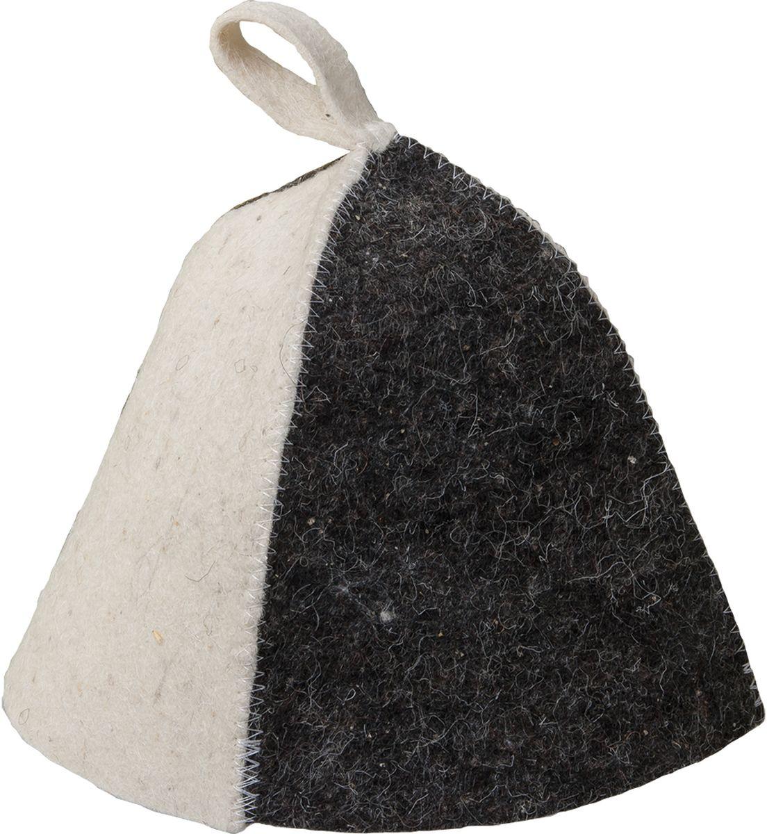 Шапка для бани и сауны Hot Pot Комби40633Шапка для бани и сауны Hot Pot — это необходимый аксессуар при посещении парной. Такая шапка защитит от головокружения и перегрева головы, а также предотвратит ломкость и сухость волос. Изделие замечательно впитывает влагу, хорошо сидит на голове, обеспечивает комфорт и удовольствие от отдыха в парилке. Незаменима в традиционной русской бане, также используется в финских саунах, где температура сухого воздуха может достигать 100°С. Шапка выполнена в классическом дизайне и дополнена петлей для подвешивания на крючок.