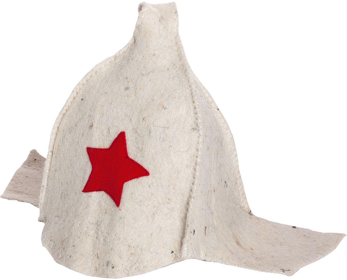 Шапка для бани и сауны Нot Pot Буденовка42014Шапка для бани и сауны Hot Pot — это необходимый аксессуар при посещении парной. Такая шапка защитит от головокружения и перегрева головы, а также предотвратит ломкость и сухость волос. Изделие замечательно впитывает влагу, хорошо сидит на голове, обеспечивает комфорт и удовольствие от отдыха в парилке. Незаменима в традиционной русской бане, также используется в финских саунах, где температура сухого воздуха может достигать 100°С. Шапка выполнена в оригинальном дизайне.
