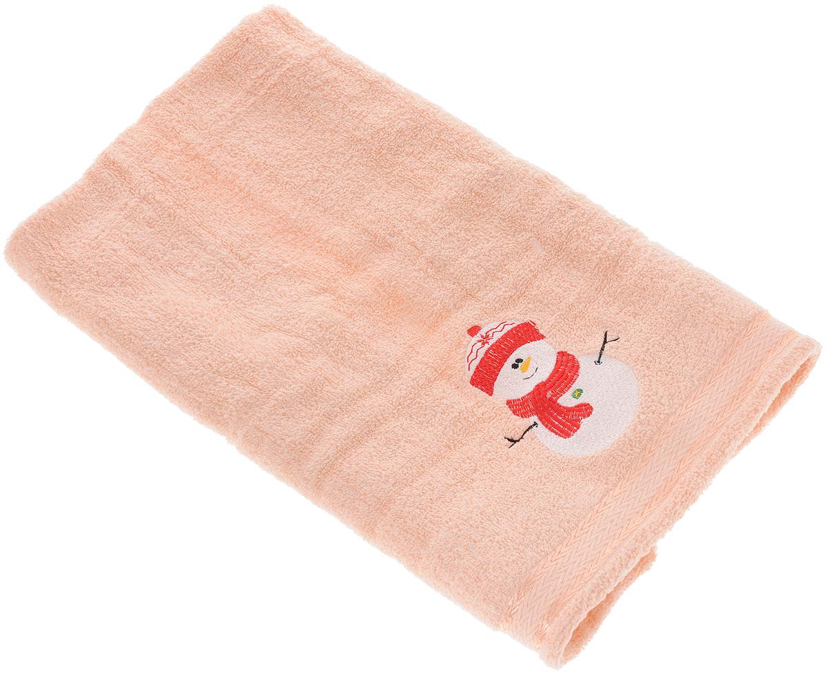 Полотенце Primavelle Орион. Снеговичок, 50 х 90 см68/5/1Махровое полотенце Primavelle Орион. Снеговичок изготовлено из натурального хлопка и украшено тематической вышивкой. Изделие необычайно мягкое и воздушное, оно прекрасно впитывает влагу, быстро сохнет и не теряет своих свойств после многократных стирок. Такое полотенце подарит массу положительных эмоций и приятных ощущений, а также станет недорогим и оригинальным подарком.
