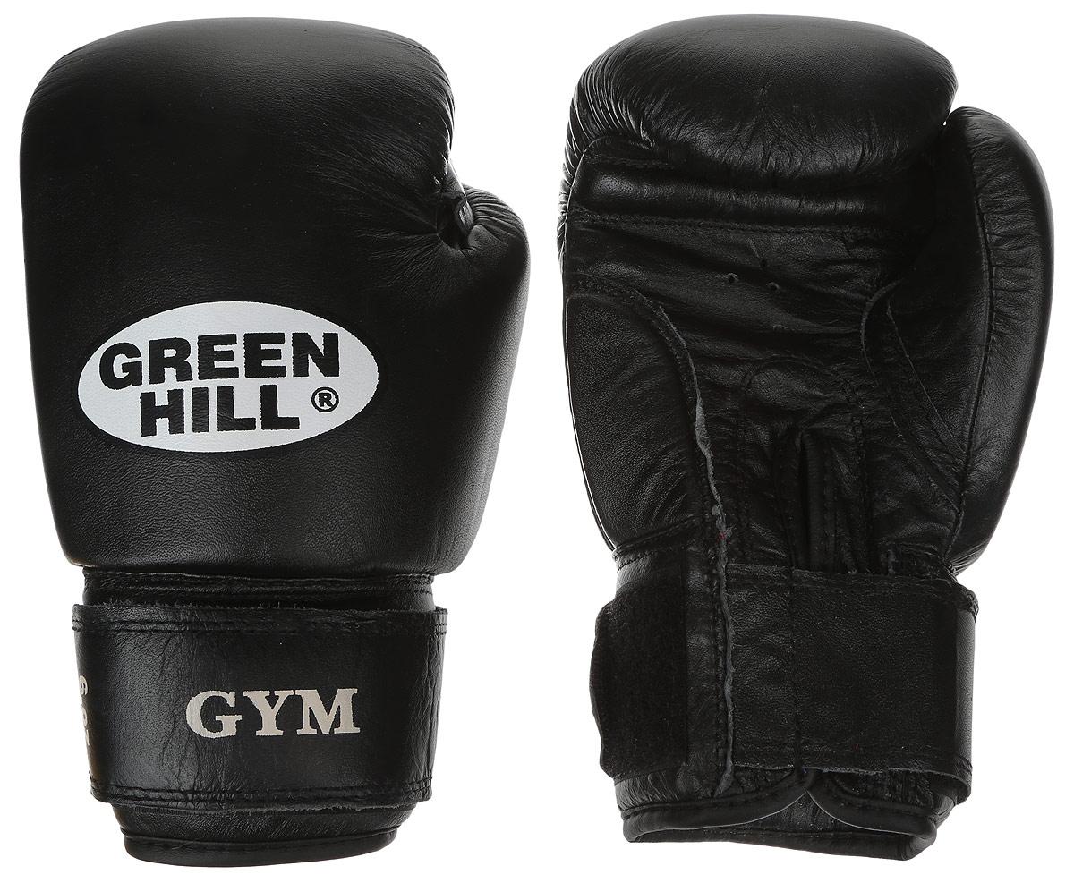 Перчатки боксерские Green Hill Gym, цвет: черный, белый. Вес 6 унцийAIRWHEEL Q3-340WH-BLACKБоксерские перчатки Green Hill Gym подходят для всех видов единоборств где применяют перчатки. Подойдет как для бокса, так и для кикбоксинга. Новички и профессионалы высоко ценят эту модель за универсальность. Верхняя часть перчатки выполнена из натуральной кожи, наполнитель - пенополиуретан. Перфорированная поверхность в области ладони позволяет создать максимально комфортный терморежим во время занятий. Закрепляется на руке при помощи липучки.