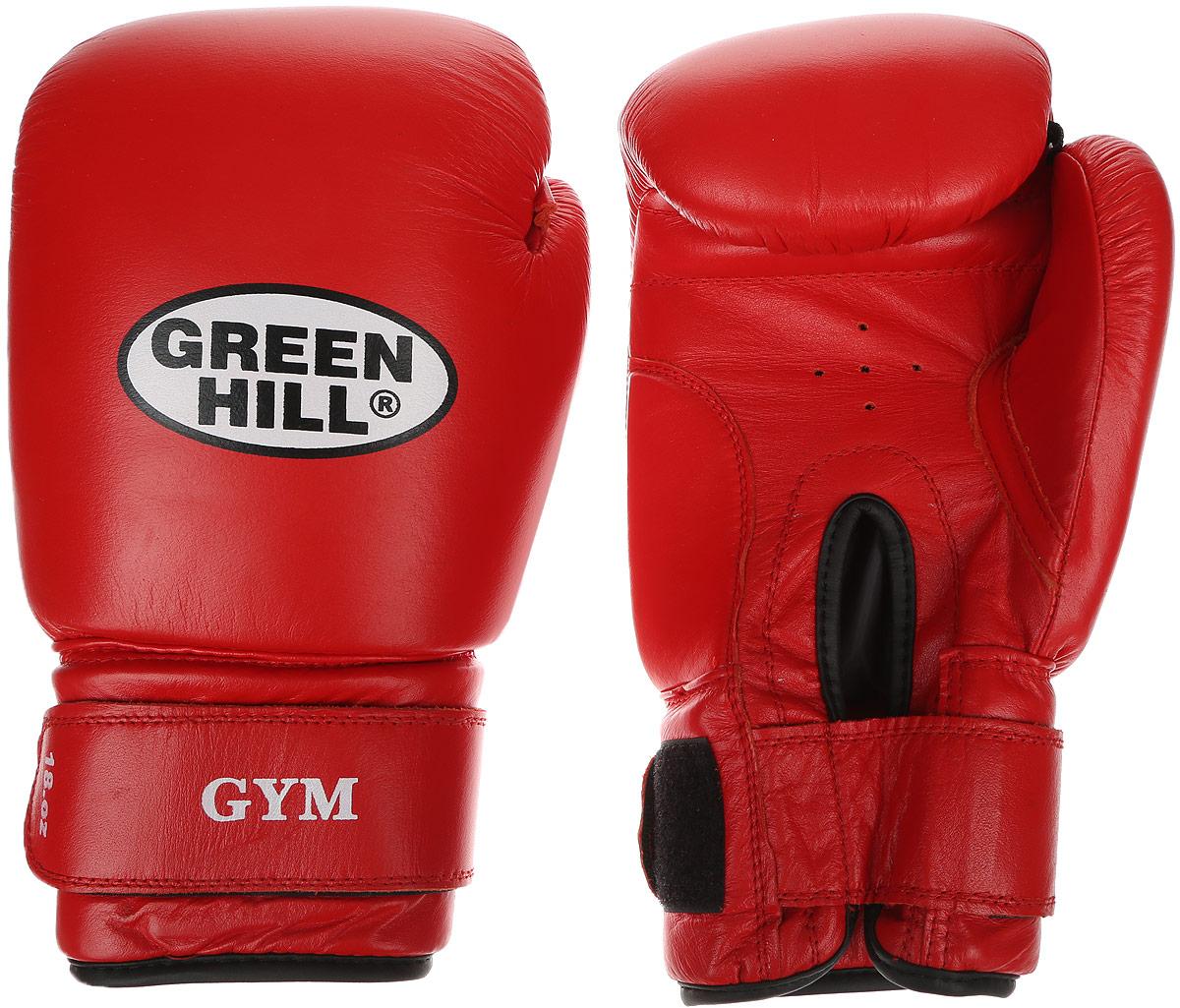Перчатки боксерские Green Hill Gym, цвет: красный, белый. Вес 16 унцийAIRWHEEL M3-162.8Боксерские перчатки Green Hill Gym подходят для всех видов единоборств где применяют перчатки. Подойдет как для бокса, так и для кикбоксинга. Новички и профессионалы высоко ценят эту модель за универсальность. Верхняя часть перчатки выполнена из натуральной кожи, наполнитель - пенополиуретан. Перфорированная поверхность в области ладони позволяет создать максимально комфортный терморежим во время занятий. Закрепляется на руке при помощи липучки.
