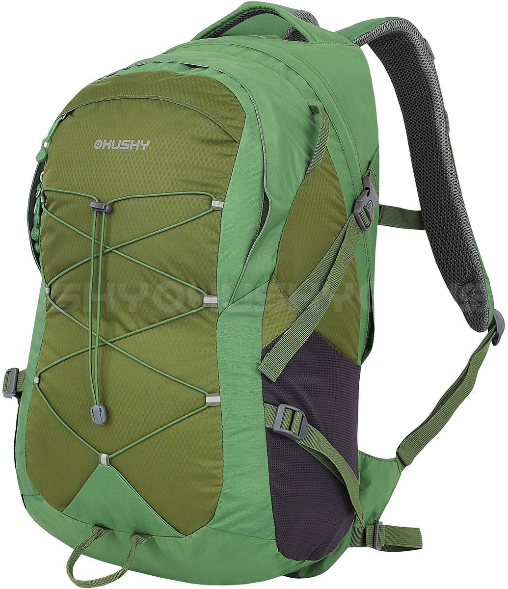 Рюкзак городской Husky PROSSY, цвет: зеленый, 30 лRivaCase 8460 aquamarineРюкзак городской PROSSY 30 от бренда HUSKY. Особенности модели: - ткань с водоотталкивающей пропиткой,- сетчатая система вентиляции спины NBS,- одно основное отделение, - нагрудный и поясной ремни,- крепеж для палок и инструмента, - карман для питьевой системы,- накидка от дождя, - боковые карманы-cетки,- светоотражающие элементы.Объем: 30 литров; Материал: Полиэстер 420D Diamond Ripstop, полиэстер 420D Ripstop PU;Размер: 53 х 29 х 19 см;Вес: 1000 г.