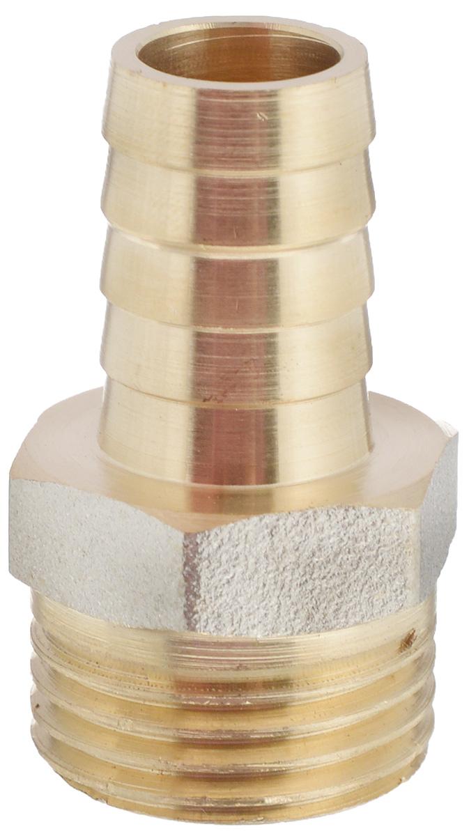 Переходник U-Tec, для резинового шланга, наружная резьба 1/2 х 14 мм3520Переходник U-Tec предназначен для соединения резьбовых соединений с резиновым шлангом. Изделие изготовлено из прочной и долговечной латуни. Никелированное покрытие на внешнем корпусе защищает изделие от окисления. Продукция под торговой маркой U-Tec прошла все необходимые испытания и по праву может считаться надежной.Размер ключа: 21 мм.