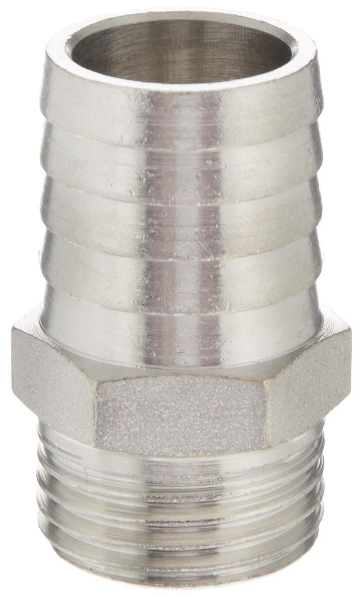Переходник U-Tec, для резинового шланга, наружная резьба 1/2 х 20 ммBL505Переходник U-Tec предназначен для соединения резьбовых соединений с резиновым шлангом. Изделие изготовлено из прочной и долговечной латуни. Никелированное покрытие на внешнем корпусе защищает изделие от окисления. Продукция под торговой маркой U-Tec прошла все необходимые испытания и по праву может считаться надежной.Размер ключа: 21 мм.
