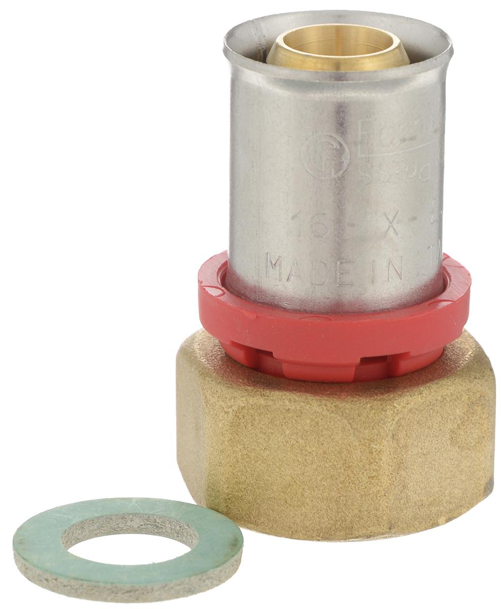 Соединитель Fornara под пресс, п - нг, 16 x 1/2RICCI RRH-2150-SСоединитель под пресс Fornara представляет собой элемент трубопровода, обеспечивающий соединение труб из разных материалов с компонентами системы. Изделие имеет переход на наружную резьбу, прочный, долговечный корпус из никелированной горячепрессованной латуни. Благодаря специальным насечкам уплотнительный материал соединителя хорошо удерживается при монтаже трубопроводной системы.