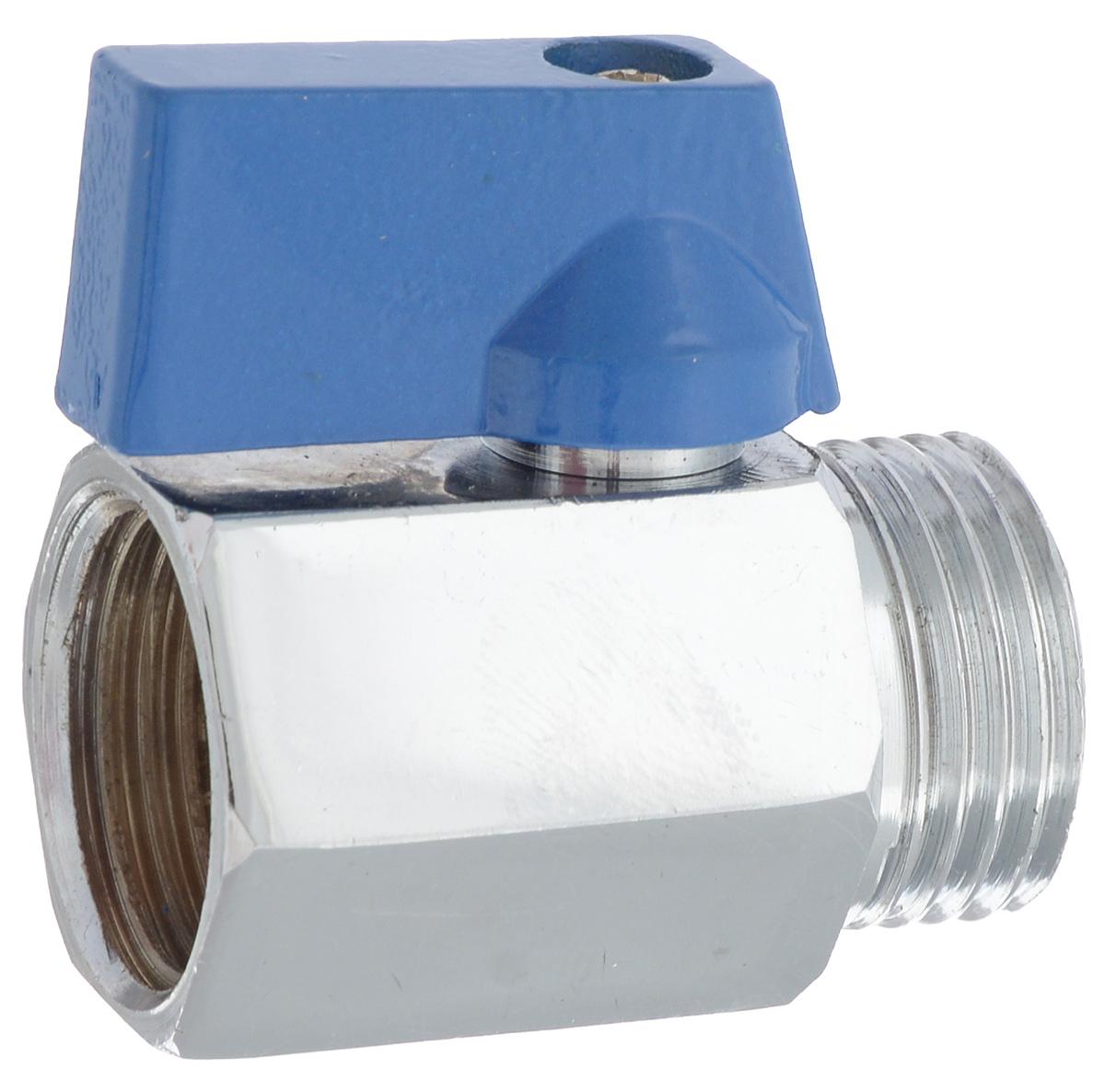 Кран шаровой миний U-tec Best, В - Н, 1/268/5/4Шаровой кран U-tec Best изготовлен из латуни и предназначен для установки на трубопроводах в качестве запорного устройства. Используется при работе с водой или паром. Поворотный механизм крана имеет пластиковую ручку.