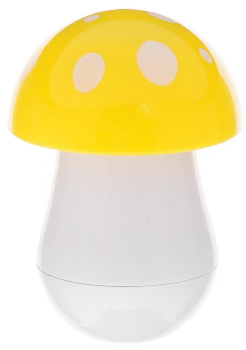 Эврика Ручка шариковая Гриб цвет шляпки желтыйRFJ-GP-F-L/12Миниатюрная ручка в виде цветного гриба имеет телескопическое сложение, приятную округлую форму и удобный карманный формат. В собранном виде ручка может служить миниатюрным настольным сувениром. Стержень синего цвета, несменяемый. Такая ручка станет отличным подарком и незаменимым аксессуаром, она удивит и порадует любителей необычной канцелярии.