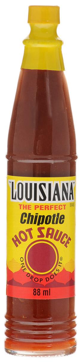 Louisiana Чипотле соус острый перечный, 88 мл220803/22261Соус Louisiana Чипотле - острый перечный соус, лучшая приправа к блюдам из мяса, птицы, морепродуктов. Может использоваться как ингредиент для приготовления, маринад.