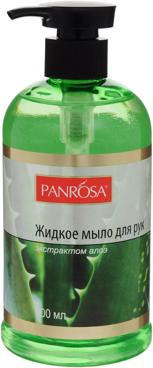 Жидкое мыло Panrosa Цветочный сад Алоэ 500мл2138782Жидкое мыло для рук Panrosa, благодаря цветочнымэкстрактам, увлажняет кожу, оставляет наваших рукахощущениечисты. Мыло смягчает кожу, снимает раздражение, способствует заживлению, оказывает противовоспалительное действие.Способствует быстрой регенерации клеток, устраняет шелушение, повышает эластичность кожи.