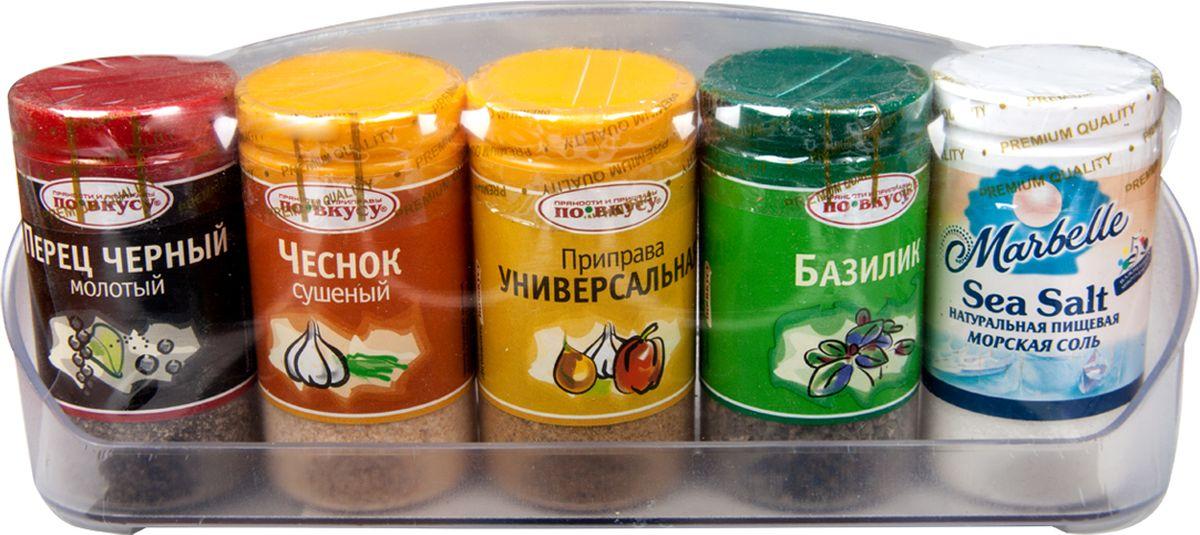 По вкусу набор классика, 200 г0120710Набор приправ Классика - это пять самых популярных приправ, которые пригодятся на любой кухне.