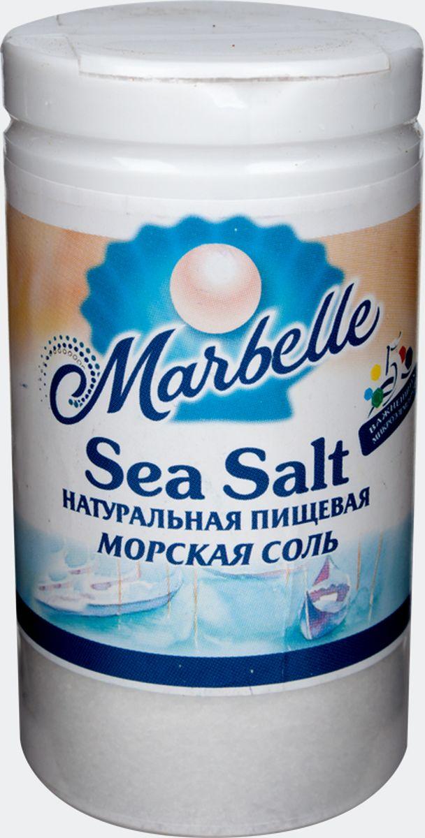 Marbellе морская соль мелкая, 80 г0120710Натуральная морская соль мелкого помола – это не только необходимый продукт в процессе приготовления пищи, но и настоящий кладезь полезных веществ и микроэлементов. Удобная упаковка с крышкой и дозатором.