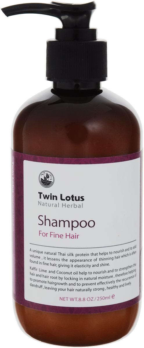 Twin Lotus Шампунь с травами для нормальных и для тонких волос, 250 млMP59.4DTwin Lotus Шампунь с травами для нормальных и для тонких волос, 250 мл
