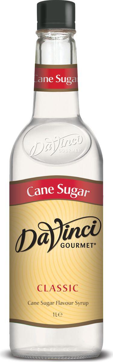 DaVinci Тростниковый сахар сироп, 1 л0120710Сироп Da Vinci Тростниковый сахар - продукт высшего качества, который давно признан по международным стандартам как лакомство высшего качества. Десертный топпинг предназначен для добавления в бодрящий кофе или украшения сладостей. Сироп Да Винчи Тростниковый сахар обладает восхитительным ароматом и классическим привкусом тростникового сахара. Приятное послевкусие подарит незабываемое удовольствие от чашечки кофе с этим ароматным сиропом. Этот продукт изготавливается по старинным рецептам на современном оборудовании, поэтому его качество находится на высшем уровне. Сироп Da Vinci Тростниковый сахар разливается в красивые классические бутылки с плотной крышкой, которая не позволяет лакомству испортиться долгое время.