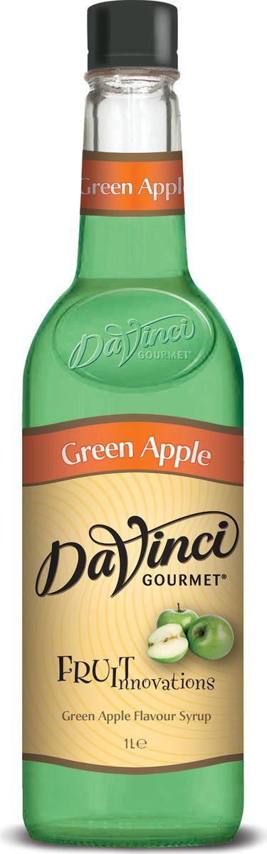 DaVinci Зеленое яблоко сироп, 1 л20393758Компания DaVinci Gourmet родилась в самой гуще зарождающейся кофейной культуры - в американском Сиэтле в 1989 году. Целью бренда было поддержать развитие кофейной индустрии, подогреть интерес общественности к новому тренду. DaVinci Gourmet создала абсолютно новую линейку ароматизированных сиропов и соусов, чью популярность до сих пор не удалось превзойти ни одной марке. Аромат яблочного желе, во вкусе - яблочное повидло.Идеально подходит для кофейных напитков с содержанием молока и сливок, чая, десертов, лимонадов, безалкогольных и алкогольных коктейлей.