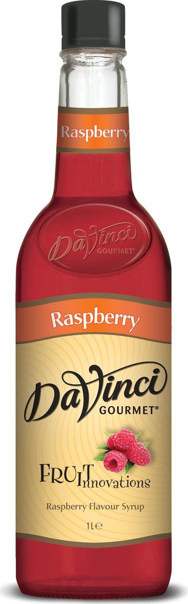 DaVinci Малина сироп, 1л0120710Сироп Da Vinci Малина - это качественный продукт, соответствующий всем международным нормам. Его производят в Великобритании на основе натурального тростникового сахара. Ароматизированный сироп Да Винчи Малина подарит вам вкус натуральных ягод, превратив обычную чашечку кофе в изысканное лакомство. Этот продукт придется по вкусу тем людям, которые стремятся развить свои кулинарные навыки. Сироп Da Vinci Малина позволит вам создавать изысканные напитки, не прилагая особых усилий. Так как он достаточно концентрированный, на одну порцию достаточно добавить всего одну столовую ложку этого продукта. Сироп Da Vinci Малина и кофе с молоком или сливками составят отличное сочетание, которое можно подавать в качестве десерта. Если вы хотите получать от кофе не только заряд бодрости, но и наслаждение сладким вкусом, то сироп Da Vinci Малина просто создан для вас.