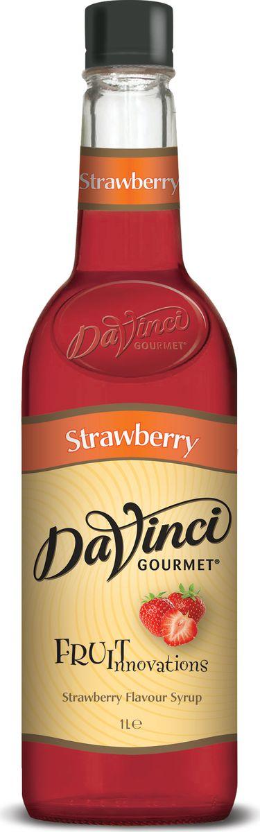 DaVinci Клубника сироп, 1 л0120710Сироп Da Vinci Клубника - это простой и действенный способ придания вашему любимому напитку на основе кофе новых вкусовых оттенков. Данный продукт производится в Великобритании из натуральных ингредиентов по классической рецептуре. Сироп Да Винчи Клубника включает тростниковый сахар, который делает его вкус изысканным. Чтобы сделать обычную утреннюю чашечку кофе поистине незабываемой, вам достаточно всего одной столовой ложечки этого лакомства. Кроме того, сироп Da Vinci Клубника купить стоит людям, которые предпочитают кофе с молоком. В состав этой сладости входит небольшое количество лимонной кислоты, благодаря чему молоко не свернется даже в очень горячем напитке. Сироп Da Vinci Клубника - один из самых простых способов разнообразить свое меню. Даже не обладая навыками профессионального бармена, вы без труда сможете создать замечательные кофейные напитки с добавлением этого продукта.