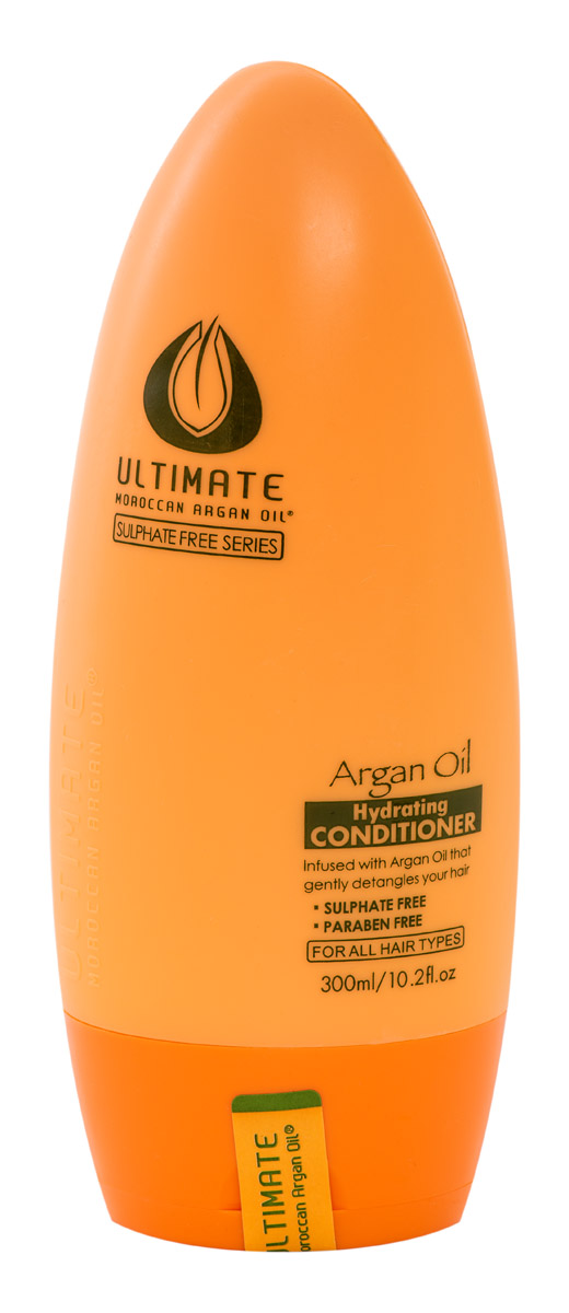 Ultimate Увлажняющий кондиционер для волос Глубокое Восстановление Argan Oil Hydrating Conditioner 300 МЛMP59.4DПродукт для профессионального и персонального применения. Не утяжеляет даже тонкие волосы, обеспечивает видимый эффект сияния за 1 - 2 применения. Для окрашенных волос (кислотный ph), термозащита волос при укладке феном. Для всех типов волос. Особенно эффективен для тонких и окрашенных волос. Результат: тонкие и непослушные волосы обретают силу, здоровый блеск, шелковистость и притягательный видимый объем.