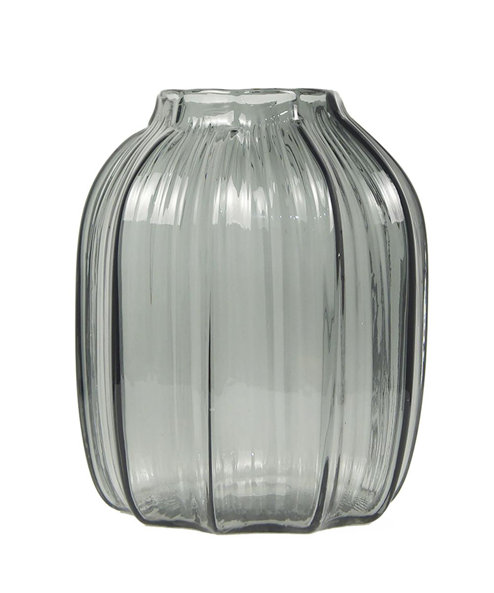 Ваза Этажерка Lulli, цвет: серый, высота 20 смFS-80423Ваза Этажерка Lulli выполнена из высококачественного стекла и имеет изысканный внешний вид. Такая ваза станет идеальным украшением интерьера и прекрасным подарком к любому случаю. Высота вазы: 20 см.