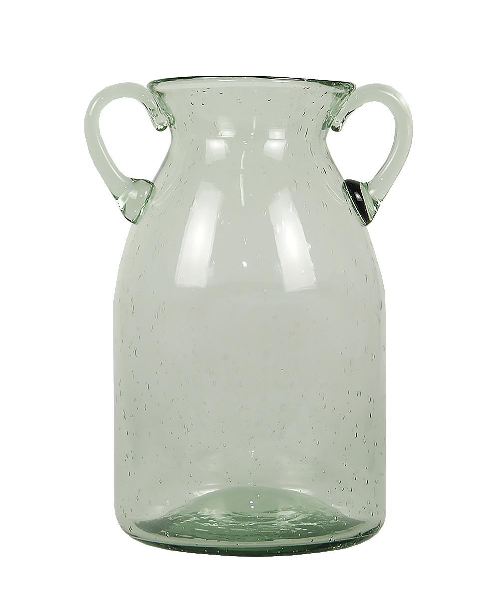 Ваза Этажерка Oliver, цвет: зеленый, прозрачный, высота 25 смFS-80418Ваза Этажерка Oliver выполнена из высококачественного стекла и имеет изысканный внешний вид. Такая ваза станет идеальным украшением интерьера и прекрасным подарком к любому случаю. Высота вазы: 25 см.