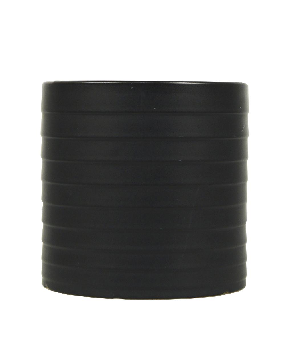 Ваза Этажерка Madrid, цвет: черный, высота 14 смFS-91909Ваза Этажерка Madrid выполнена из высококачественной керамики и имеет изысканный внешний вид. Такая ваза станет идеальным украшением интерьера и прекрасным подарком к любому случаю. Высота вазы: 14 см.