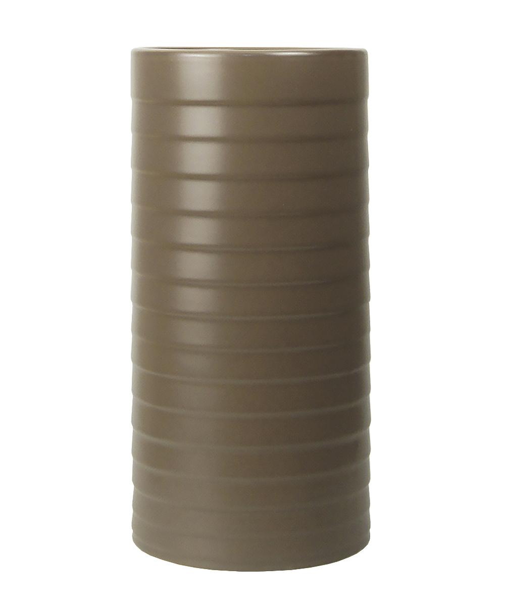 Ваза Этажерка Madrid, цвет: коричневый, высота 30 смFS-80299Ваза Этажерка Madrid выполнена из высококачественной керамики и имеет изысканный внешний вид. Такая ваза станет идеальным украшением интерьера и прекрасным подарком к любому случаю. Высота вазы: 30 см.
