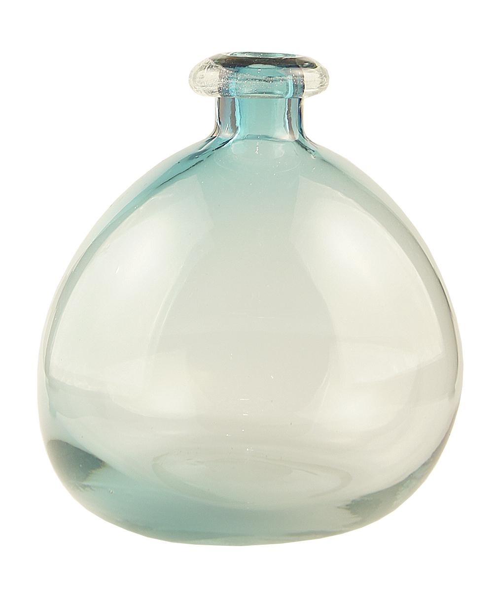 Ваза Этажерка Bottle, цвет: голубой, высота 25 смFS-80299Ваза Этажерка Bottle выполнена из высококачественного стекла и имеет изысканный внешний вид. Такая ваза станет идеальным украшением интерьера и прекрасным подарком к любому случаю. Высота вазы: 25 см.