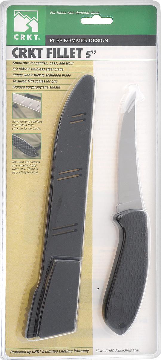 Нож филейный Columbia River Komer Fillet 5, длина лезвия 12 см12249Филейный нож Columbia River Komer Fillet 5 из качественной стали с поверхностной обработкой Satin finish, которая придет ему стильный матовый оттенок. Нож предназначен для нарезки продуктов, разделывания мяса. Лезвие заточено и сформировано для максимально эффективного использования. Пластиковая рукоять хорошо держится в руке и не скользит. Такой нож станет прекрасным дополнением к коллекции ваших кухонных аксессуаров и не займет много места при хранении. В комплекте с ножом идет пластиковый чехол.Не рекомендуется мыть в посудомоечной машине. Общая длина ножа: 24,5 см.