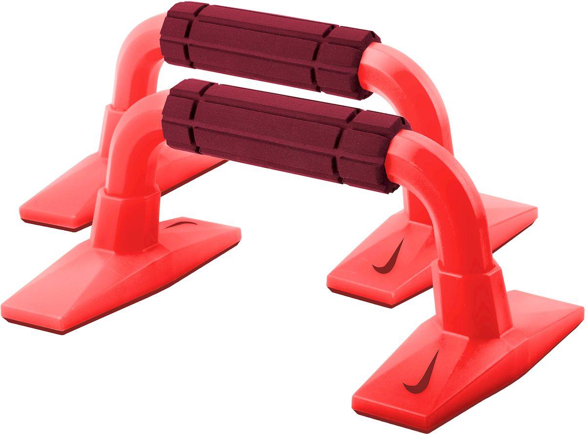 Упор для отжиманий Nike  Push Up Grip 2.1 , цвет: красный, бордовый - Силовые тренажеры
