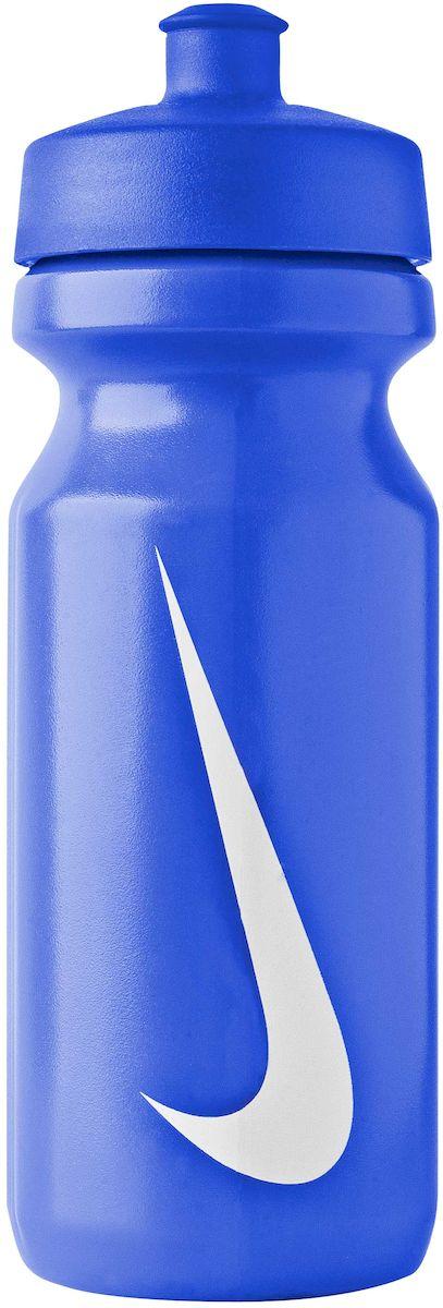 Бутылка для воды Nike Big Mouth, цвет: синий, белый, 650 млN.OB.17.468.22- Широкое отверстие позволяет удобно наливать коктейли и добавлять лед в бутылку.- Просто открывающийся защитный колпачок. Широкая рельефная поверхность позволяет с лёгкостью потянуть за него и открыть бутылку.- Нижняя часть конической формы позволяет легко помещать и вытаскивать бутылку из велосипедной сетки.- Объём: 650мл.