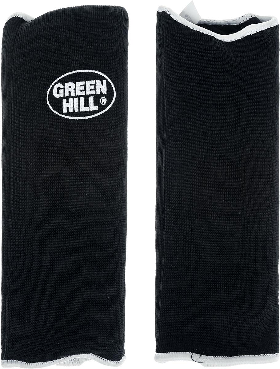 """Защита на предплечье """"Green Hill"""", цвет: черный, белый. Размер XXL. AP-6132"""
